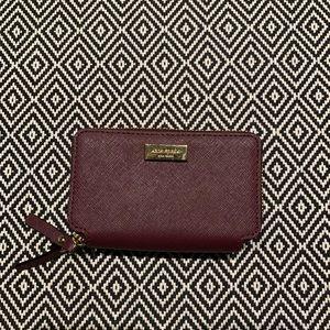 Kate Spade Rosie Laurel Way Double Zip Wallet